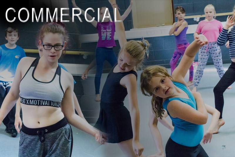 Commercial dance classes in York and Shiptonthorpe in the East Riding of Yorkshire