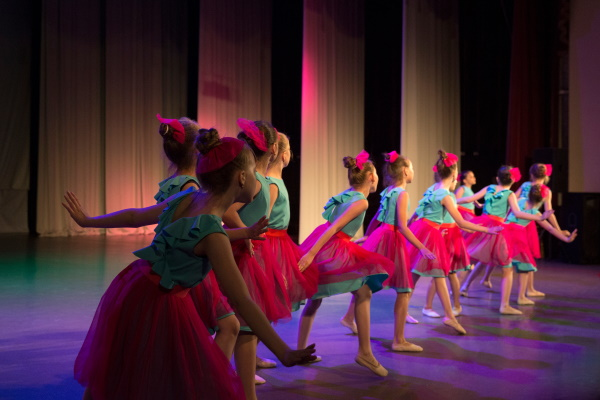 Ballet, tap, and theatre-craft classes