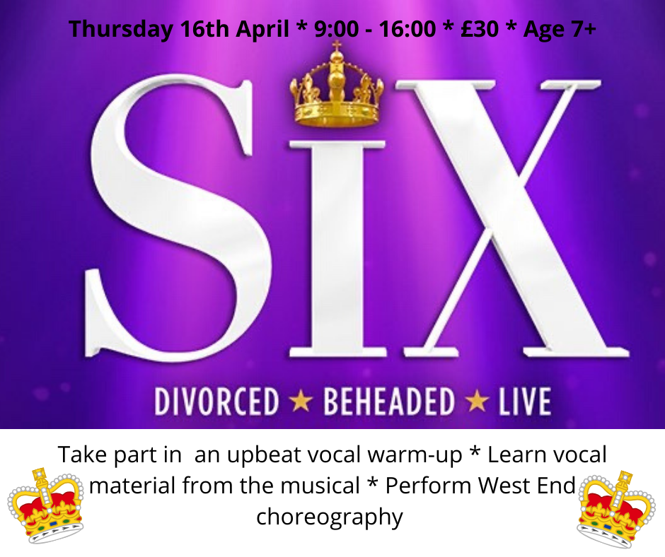 Six One-Day Musical Theatre Workshop
