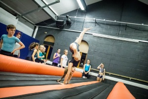 Tumble track private lessons