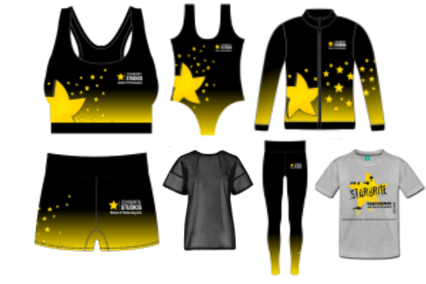 New Starbrite Studios uniform